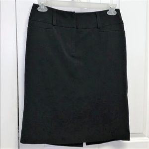 Apt 9 Skirt Size 10 Pencil Black